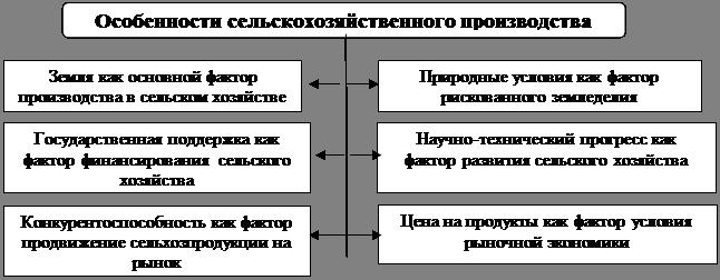 Особенности развития сельского