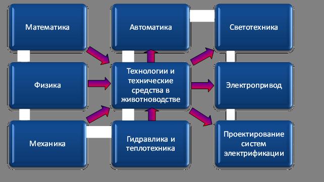 схема межпредметной связи